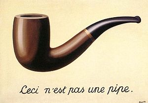 René Magritte, The Treachery of Images', 1929